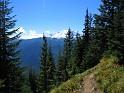 Amazing loop trail east of Mount Rainier